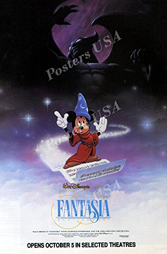 Poster USA - Disney Classics Fantasia Poster GLOSSY FINISH