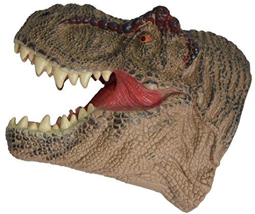 Aomori Haba Japan 3D Soft Large Rubber TRex Handpuppets - Tyrannosaurus Rex Dinosaur Head Dino Hand Puppet for Kids/Adults (Free (Rex Hand Puppet)