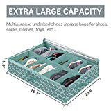 homyfort Underbed Storage Bags for Shoes
