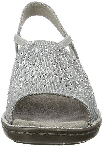 Sandals Grey Womens Wedge Korsika Jenny White iii CqBwpqSAx