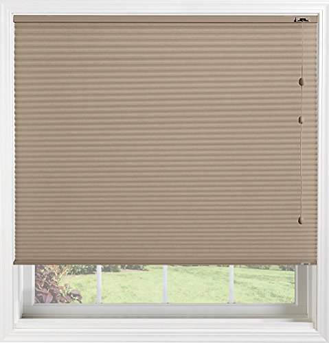 Bali Blinds Custom Light Filtering Cellular Shade with Cord Lift, 3/8