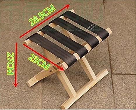 Wdbs solido legno mazar allaperto sgabello portable panca sgabello