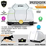 TPH Defender Dog Proof Strongest & Custom Fit Heavy Duty Car Cover with Premium Piping for Toyota Landcruiser