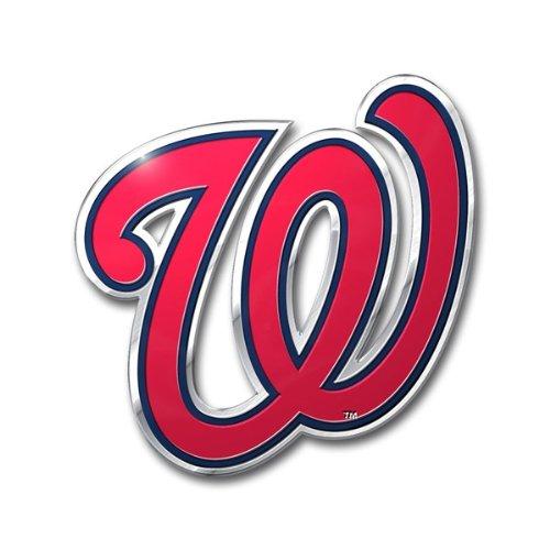 MLB Washington Nationals Die Cut Color Automobile Emblem]()