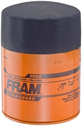 - Fram PH8A Extra Guard Passenger Car Spin-On Oil Filter (Pack of 2)