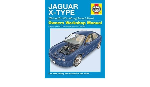 Manual Haynes para Jaguar X-Type 2,0, 2,5, 3,0, V6 SE Sport Classic y 2.0D, 2.2D, 2001 - 2011 (idioma español no garantizado): Amazon.es: Coche y moto