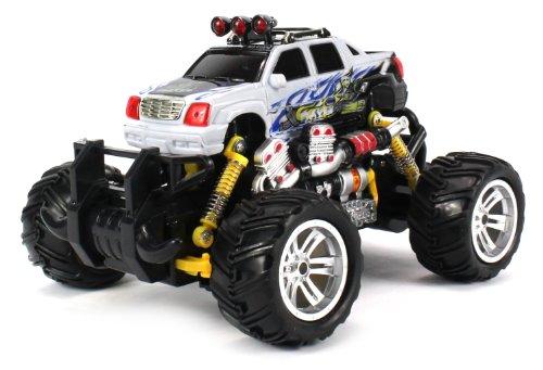 Graffiti Cadillac Escalade EXT Electric RC Off-Road Monster Truck 1:18 Scale 4 (Cadillac Escalade Ext Pickup)