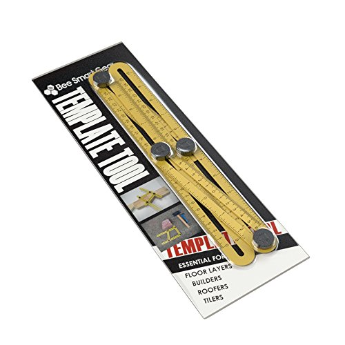Template Measuring Tool | Superior Template Marker For All | Durable | Easy To Use Tightening Mechanism | Create Professional Layouts For All Surfaces By ...