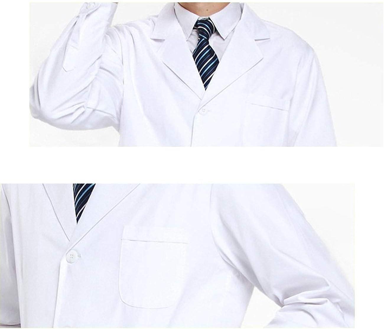 Camice medicale da laboratorio Feynman da uomo in cotone