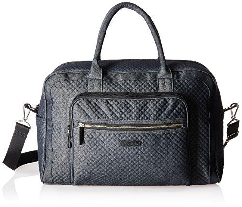 Vera Bradley Iconic Weekender Travel Bag, Denim, Denim Navy by Vera Bradley