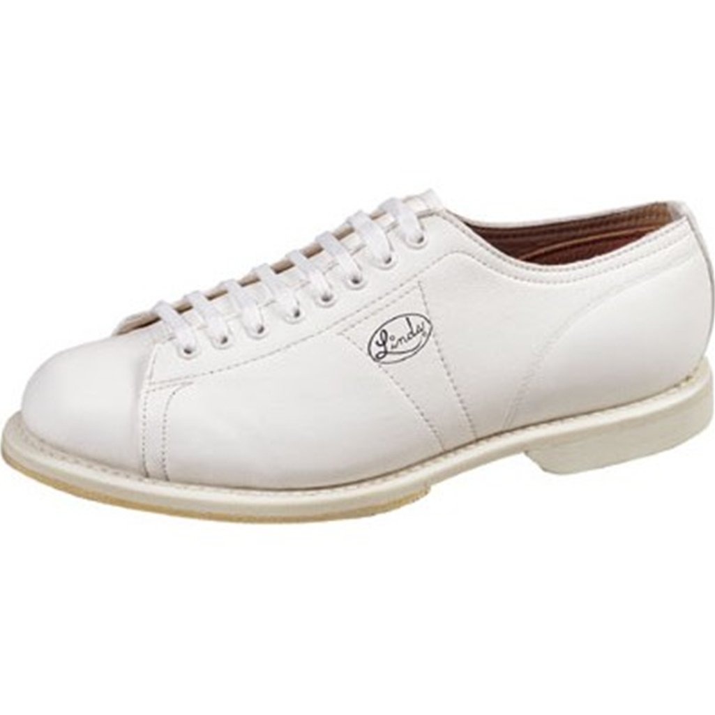Linds Womens Classic Bowling Shoes- Right Hand (11 M US, White) by Linds Bowling Shoes & Bags (Image #1)