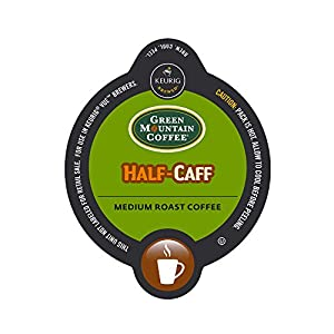 Vue 16-Count Green Mountain Coffee Half-Caff Coffee for Keurig Brewers