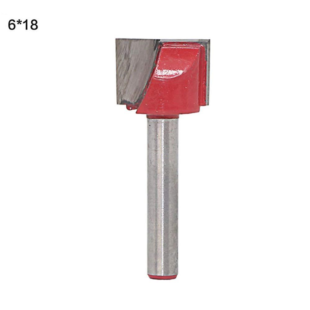 Godagoda 1/4-Inch Shank Carbide Tipped Cleaning Bottom Router Bit Cutter