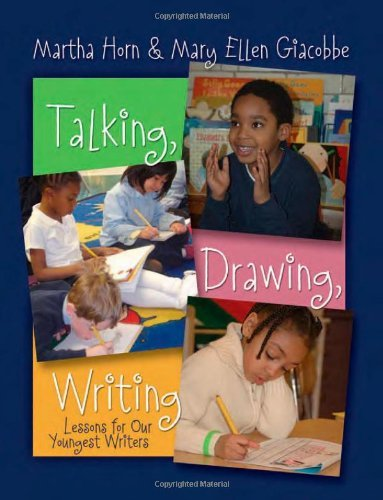 Download Talking, Drawing, Writing: Lessons for Our Youngest Writers Pdf