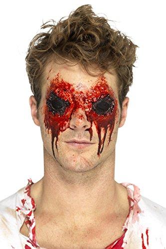 Smiffy's 46806 Latex Zombie Eyes Prosthetic, Flesh, One Size