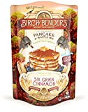Six Grain Cinnamon Pancake and Waffle Mix by Birch Benders, Made with Organic Ingredients, Whole Grain, Non-GMO, Family Pack, 96 Ounce (16oz 6-pack)