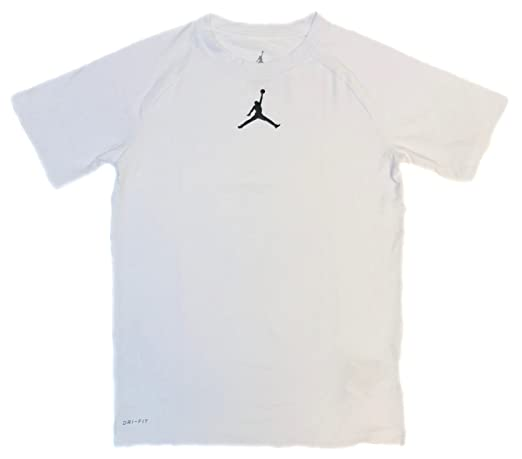 new arrival 5377d 5d0c7 Amazon.com  Nike Air Jordan Boys  23 Alpha Dry Fitted T-Shirt  Clothing