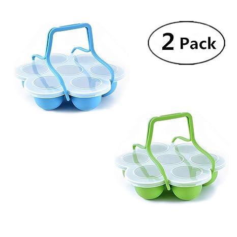 2 paquetes de molde de silicona para huevos de huevo para maceta ...