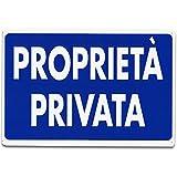 CARTELLI SEGNALI PLASTICA PROPRIETA' PRIVATA