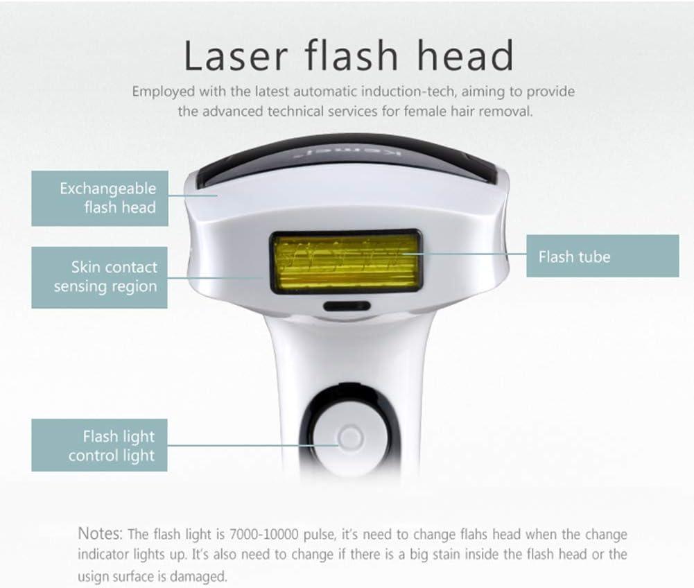 QXXNB Lady IPL Photon Depiladora láser sin Dolor Permanente ...