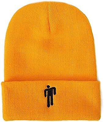 Jinshengfit Billie Eilish Hat Beanie Knit Hat Unisex Embroidered Logo Knitted Cap