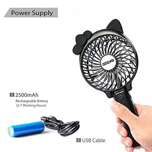 Mini Portable Handheld Fan Oxoqo Personal Usb Foldable