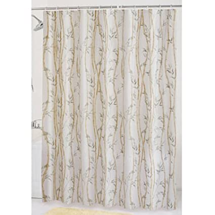 Amazon.com: Mainstays Bamboo Garden PEVA Shower Curtain: Home & Kitchen