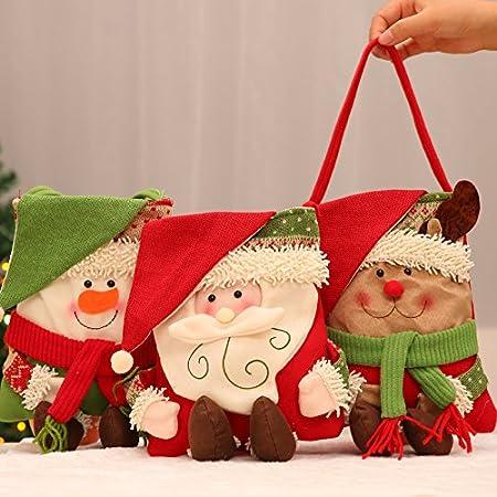 LiWan Creative Christmas gift bags small gift bag candy apple bag ...