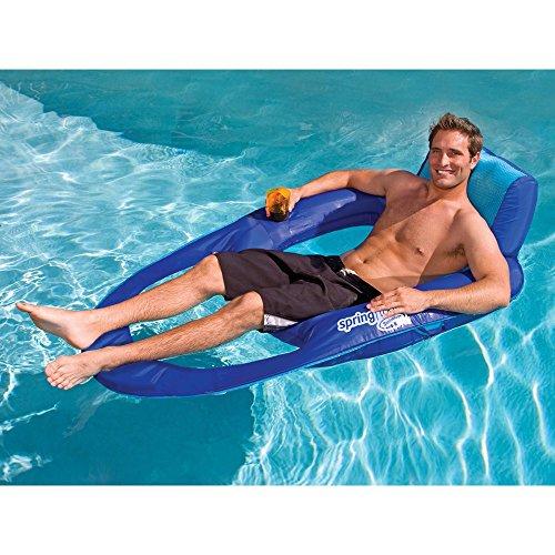 SwimWays Spring Float Pool Recliner XL - 2 pack (Recliner Swimways)