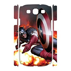 WAKEUP Captain America Customized Gifts Hard 3D Case For Samsung Galaxy S3 I9300