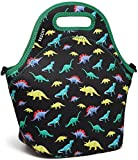 Lunch Box Bag for Girls,Vaschy Neoprene Insulated Lunch Tote with Detachable Adjustable Shoulder
