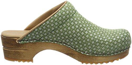 Sanita Women's Sis Open Clogs Green (Green) KksZGa