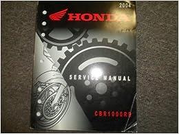 Book 2004 Honda CBR1000RR Service Shop Repair Factory Manual OEM 2004 CBR1000RR NEW