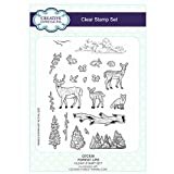 Creative Expressions Sue Wilson Festive Collection A5 Clear Stamp Set - CEC838 Forest Life