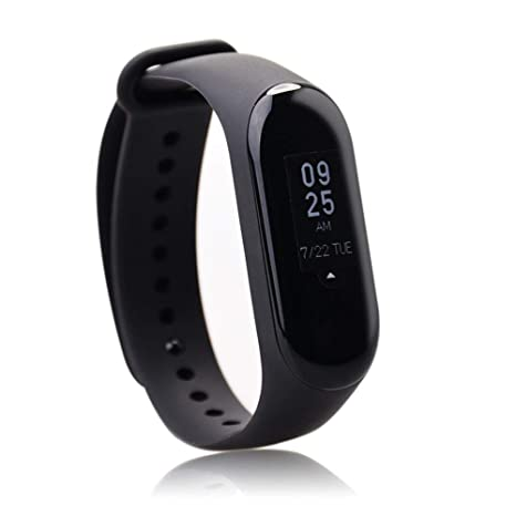 Amazon.com : Xiaomi Mi Band 3 Fitness Tracker 0.78 OLED ...