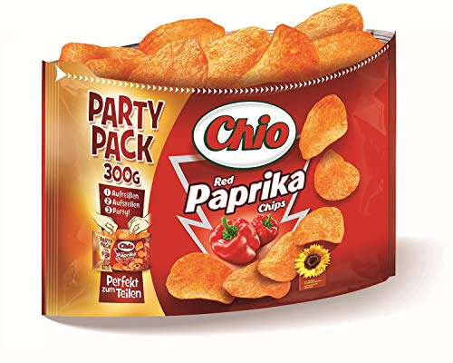 Jetzt entdecken:  Chio Chips Red Paprika Party Pack, 8er Pack (8 x 300 g) im Amazon Wochenangebot