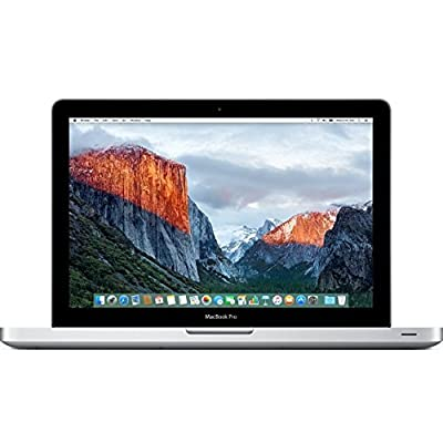 New Apple 13-inch MacBook Pro MD101LL/A (Core i5, 4GB RAM, 500GB HD, SuperDrive, MacOS X El Capitan)