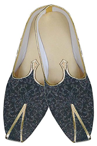 INMONARCH Herren Braun Wunderbare Indische Hochzeit Schuhe MJ0174