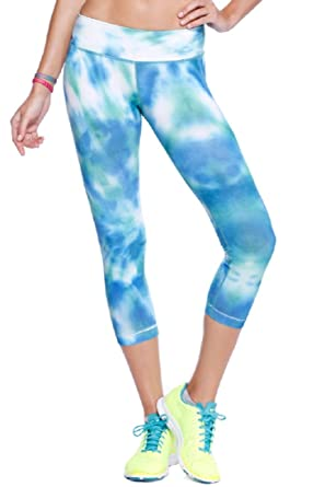 afa07ada1d NikiBiki Sports Yoga Pants Water Cloud Sublimation. Made in the USA  (Medium/Large