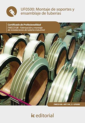 Montaje de soportes y ensamblaje de tuberías. FMEC0108 (Spanish Edition) by [Jiménez