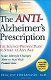 The Anti-Alzheimer's Prescription, Vincent Fortanasce, 1592403794
