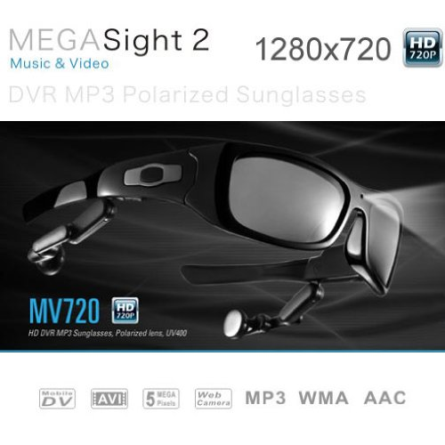 pixels 1280X720 Camera Sunglasses player product image