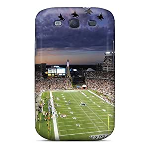 AlissaDubois Samsung Galaxy S3 Shock Absorbent Hard Cell-phone Case Custom High Resolution New England Patriots Pictures [TuY10887KXoi]