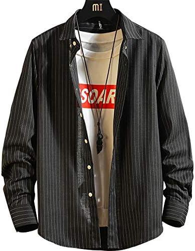 [スポンサー プロダクト]YIOHYHDシャツ メンズ 長袖 カジュアル ビジネス 大きい サイズ 無地 シャツ