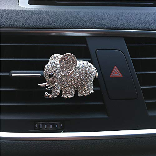 Carrfan Car Elephant Styling Perfume Clip Car Air Outlet Freshener Automobile Air Vent Gap Aromatherapy Air Purifier Cleaner