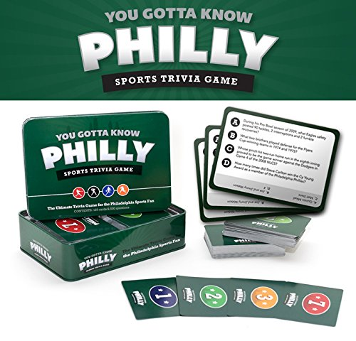 Eagles Philadelphia Gift - You Gotta Know Philly - Sports Trivia Game