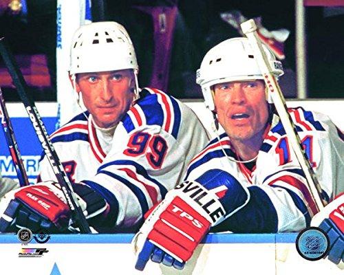 Rangers Mark Messier/Wayne Gretzky 8