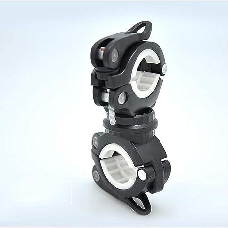 YOUNICER Soporte de Linterna Rotación de 360º Bicicleta de ...