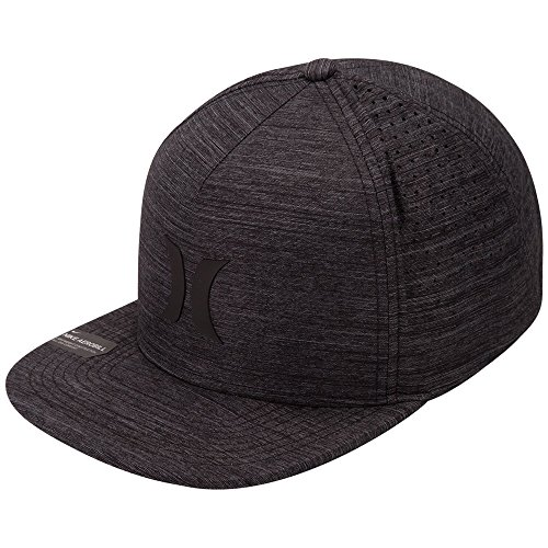 Hurley Men's Dri-Fit Icon 4.0 Hat, Wolf Grey (012), One Size Hurley Icon