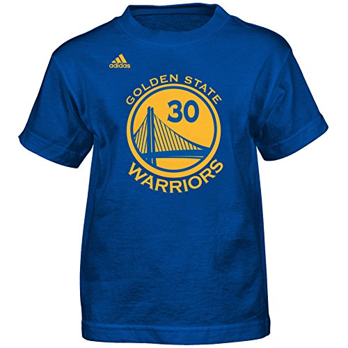 NBA Stephen Curry Golden State Warriors #30 Kids Name & Number T-Shirt – DiZiSports Store